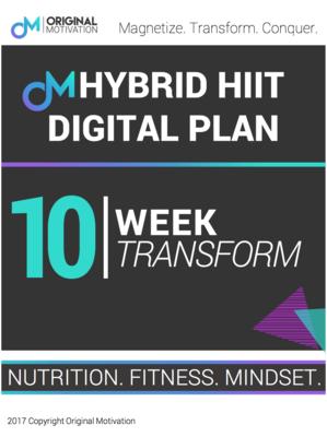 10 WEEK FULL HYBRID PROGRAM