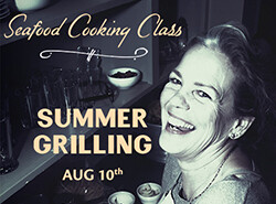 Salty's on Alki Cooking Class Aug 10th