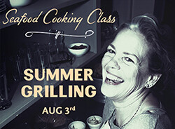 Salty's on Alki Cooking Class Aug 3rd