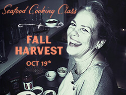 Salty's on Alki Cooking Class Oct 19th