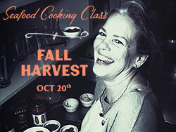 Salty's on Alki Cooking Class Oct 20th