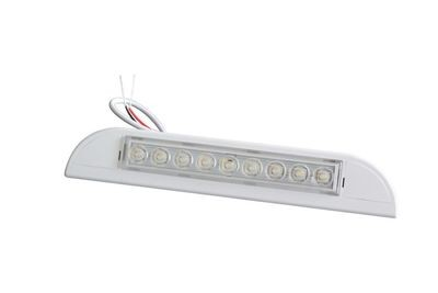 231mm white led exterior caravan awning light