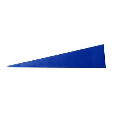 BLUE Wedge tandem caravan rv levelling ramp (single)
