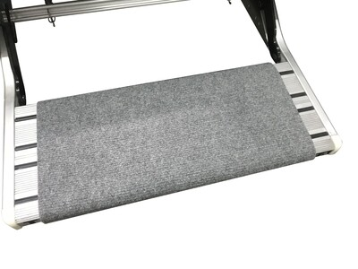 Grey Universal Wrap Around Step Rug for TRA Single & Double Steps