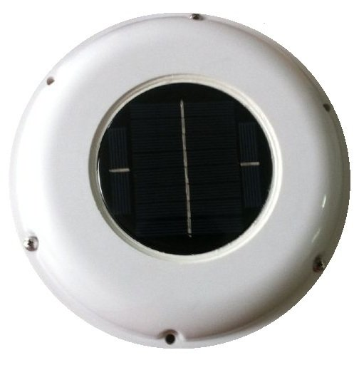 Solar powered ventilation cooling fan (requires sunlight to operate)