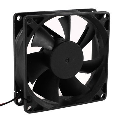 80mm brushless 12 volt ventilation cooling fan