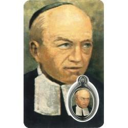 Mutien Marie Kaartje met Medaille en Gebed