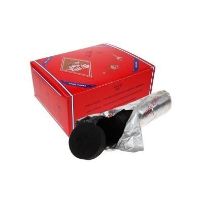 Houtskool 40 mm  Karton van 10 rollen -10 stuks in 1 rol - om wierook te branden