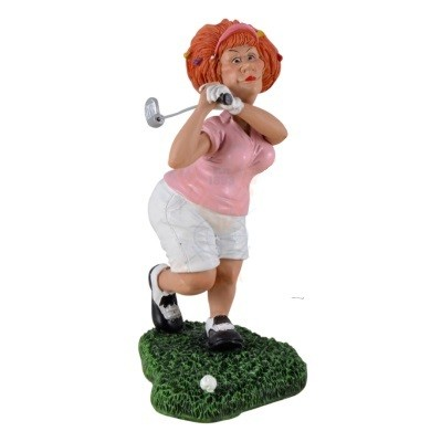 golf vrouw