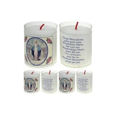 Set van 4 kaarsen WONDERBARE- 5 Talen -