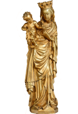 Onze-Lieve-Vrouw met Kind 57 cm     Kunststof