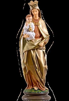 Onze Lieve Vrouw met kind  55 cm     Kunststof