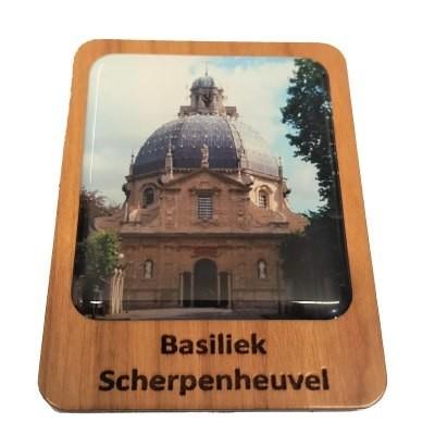 Magneet Scherpenheuvel  5 x 7 cm