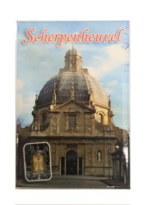 Magneet Scherpenheuvel  5 x 8 cm