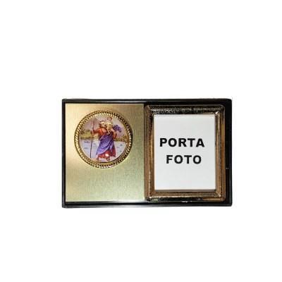 Fotokader met Kristoffel en magneet 6 x 4 cm