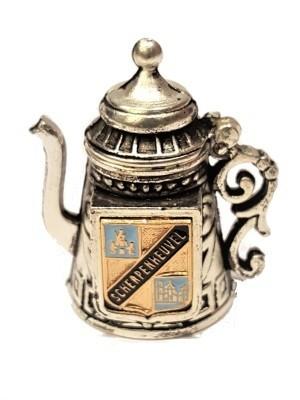 Vingerhoed Scherpenheuvel Metaal koffiekan