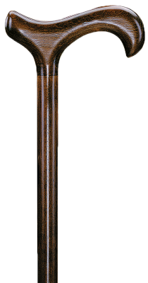 Wandelstok hout- BRUIN 94 cm