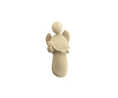 "Engel ""Stella-set 14 cm naturel hout"""