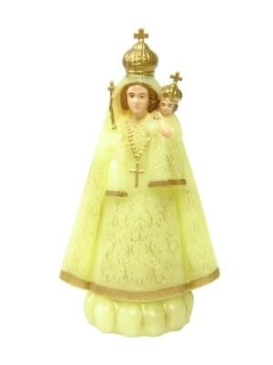 Onze Lieve Vrouw Scherpenheuvel 11 cm plastic lichtgevend
