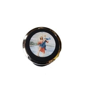 Telefoon-houder Magneet met afbeelding St Kristoffel