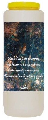 Noveenkaars Mijn licht zal je ziel verwarmen ...
