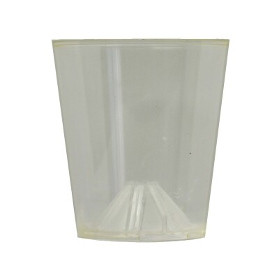 Vlambeschermer transparant plastic PER 10 STUKS