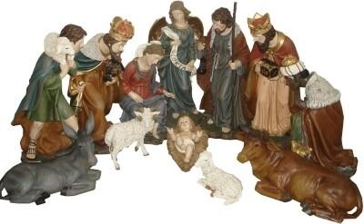 Kerstset 60 cm 11 figuren