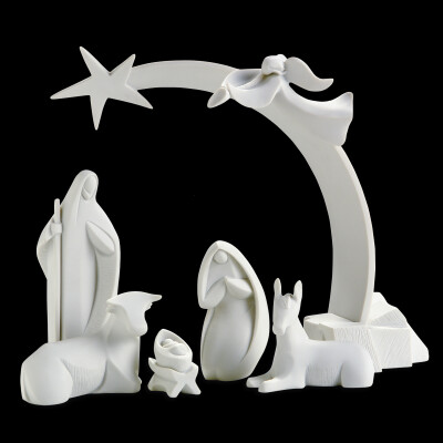 Kerstset Goebel / Nadal  12 figuren     16 cm