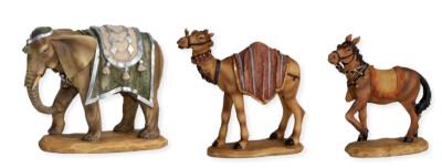 Kameel + Paard + Olifant