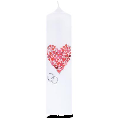 Huwelijkskaars Ø 6 cm x 25 cm