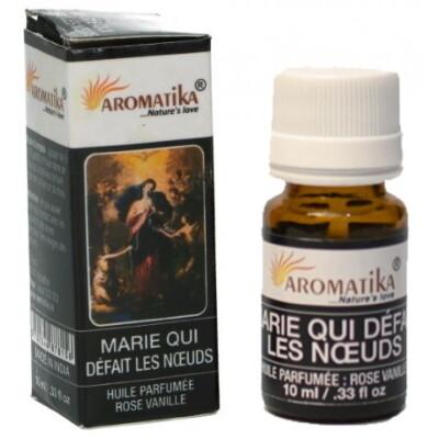 Geurolie 10 ml -ROZE VANILLE- Olv Knopen