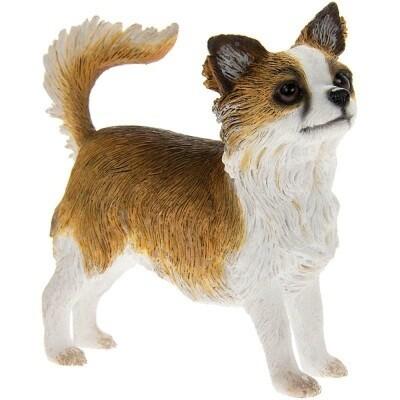 Chihuahua lang haar 9 x 4 x 9 cm