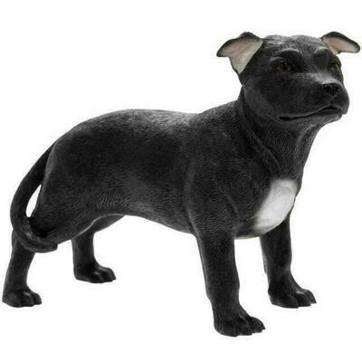 Staffordshire zwart 12 cm