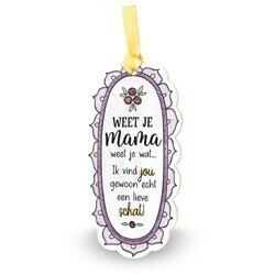 Mama - Kleurrijke Tegeltjes