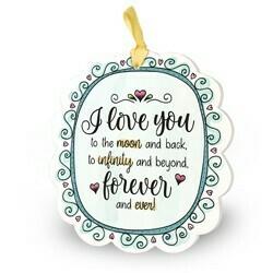 I love you - Kleurrijke Tegeltjes