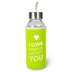 I LOVE YOU Waterfles