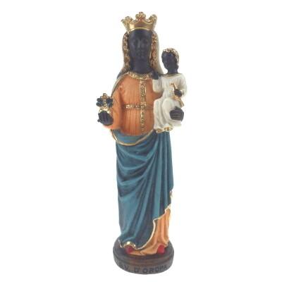 Beeld Zwarte Maagd van Oropa 27 cm