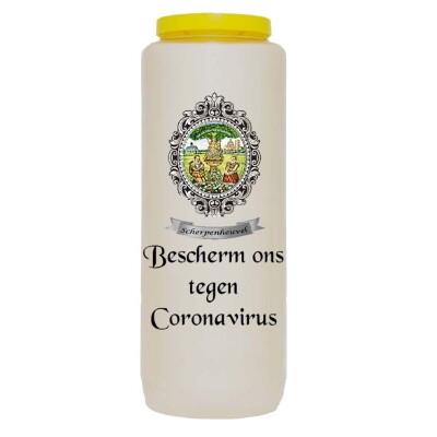 Noveenkaars BESCHERM ONS TEGEN CORONAVIRUS