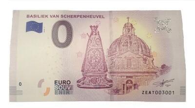 Euro Biljet Scherpenheuvel
