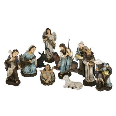 Set van 11 Figuren 80 cm