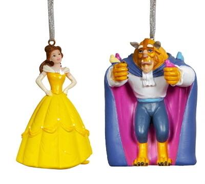 Disney Set Belle & Het beest - hangen of staan -