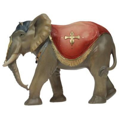 Olifant voor 15 cm figuren gekleurd
