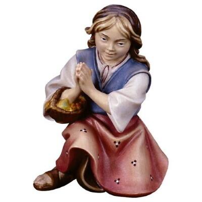 Herderin voor 15 cm figuren gekleurd