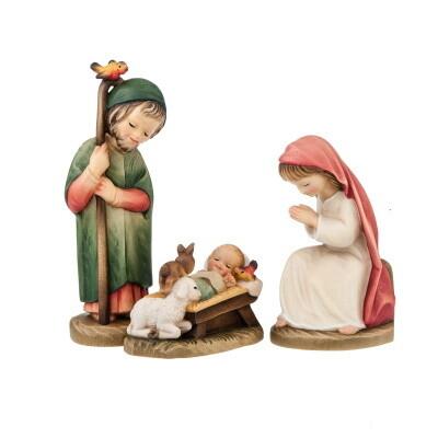 Heilige Familie Ferrandiz Houtsnijwerk 15 cm