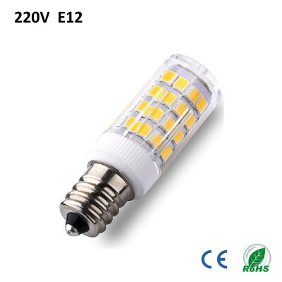 LED lamp 220V E12 warm wit