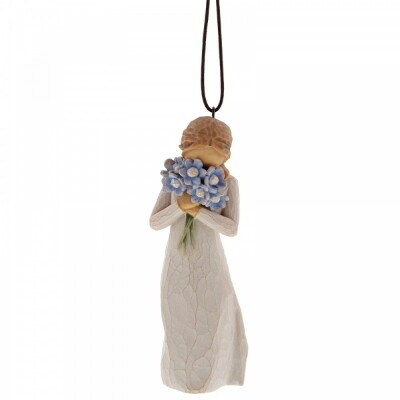 27911 Forget me not Ornament 10.5 cm
