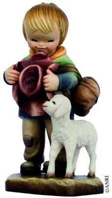Herder Ferrandiz Houtsnijwerk 15 cm