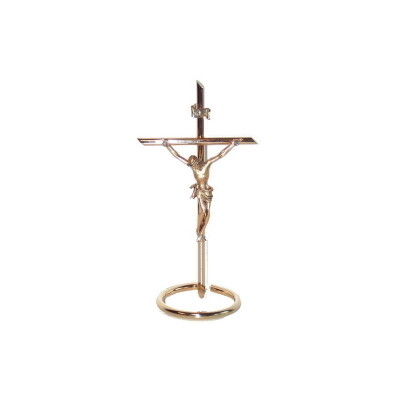 Kruis staand in METAAL 20 cm