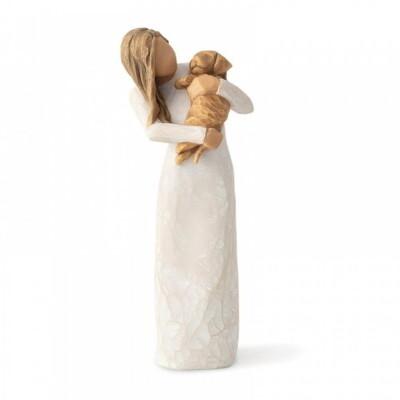 Adorable You ( golden dog) 19.5 cm
