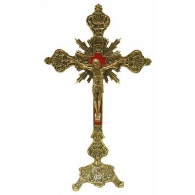 Kruis staand in METAAL 23 cm